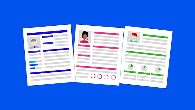 3 główne zasady przy tworzeniu CV